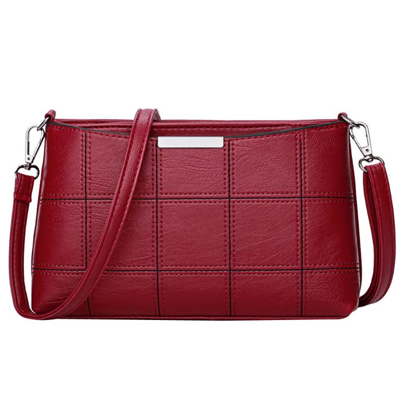 Bonsa Solid Stitched Pattern Shoulder Bag for Women