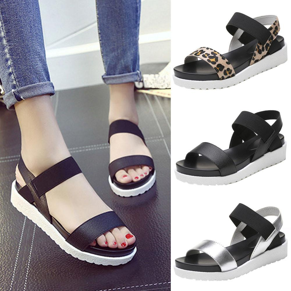 Athena Roman Wedge Sandals for Women - Hautify