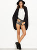 Open Front Shawl Cardigan Sweater - Hautify