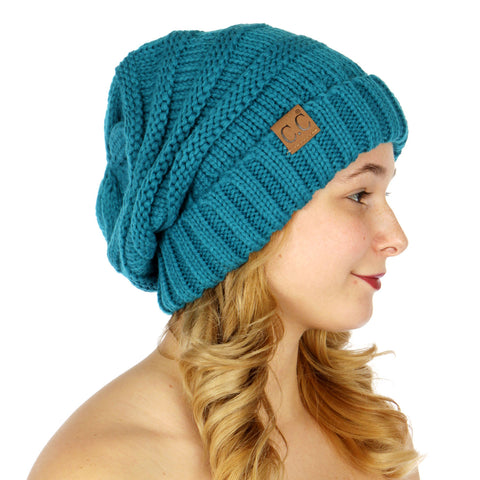 Over-sized Slouchy Knit Hat