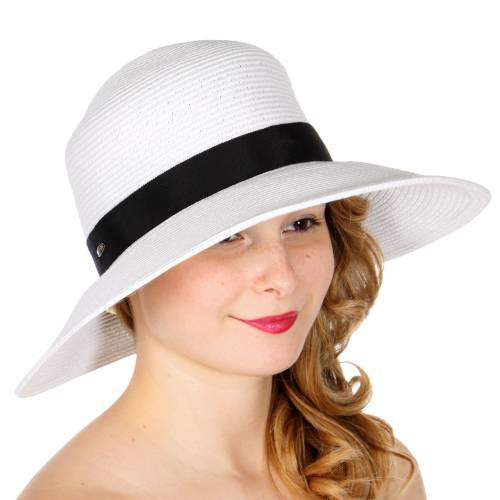 Womens Floppy and Sun Hats UV Protection Foldable Wide Brim – Hautify 3b5f1a62f6d