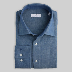 Jeanshemd Regular Fit Blau