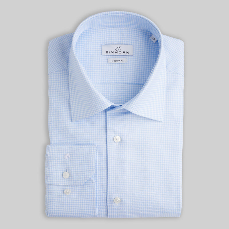 Oxfordhemd Modern Fit Hellblau