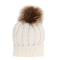 Mom & Me Pom Beanies - Beary Kids
