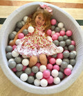 Large (7cm) Pink Ball Pit Balls - Bag of 50 - Beary Kids