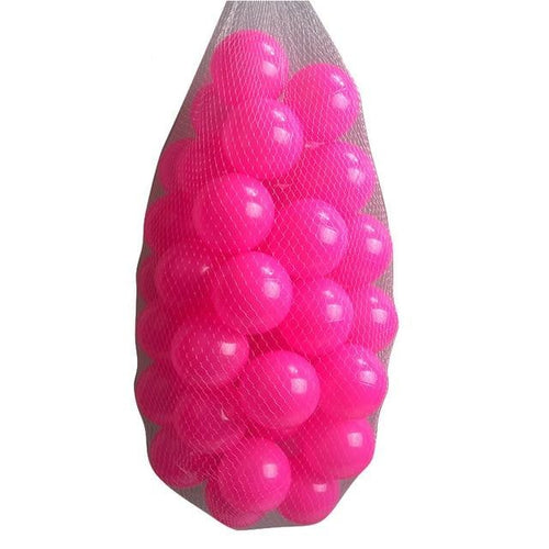 Ball Pit Balls - 200 Pieces - Pink - Beary Kids