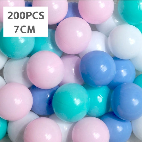 Ball Pit Balls - 200 Pieces - Mixed Color Set B - Beary Kids