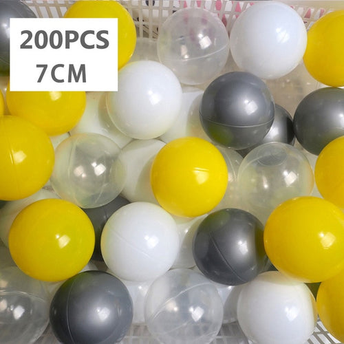 Ball Pit Balls - 200 Pieces - Mixed Color Set K - Beary Kids