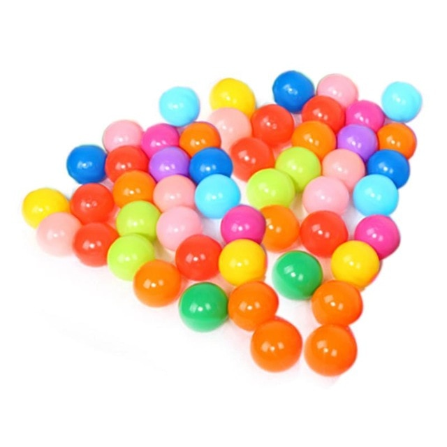 Ball Pit Balls - Rainbow Mix - 50 pieces - Beary Kids