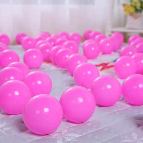 Ball Pit Balls - 50 Pieces - Pink - Beary Kids