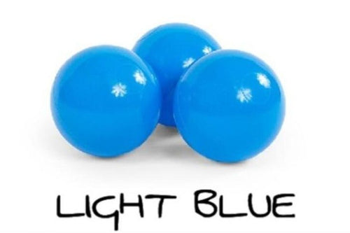 Jumbo Ball Pit Balls - 3 Inches - Bright Blue - Beary Kids