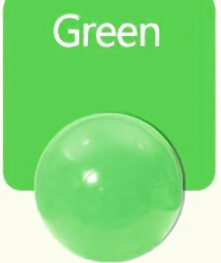 Large (7cm) Green Ball Pit Ball - Bag of 50