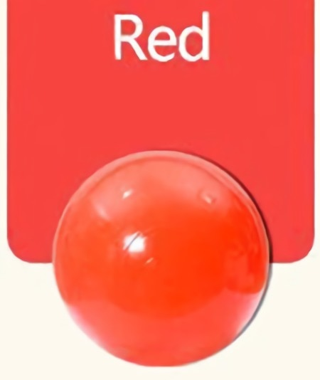 Large (7cm) Red Ball Pit Ball - Bag of 50