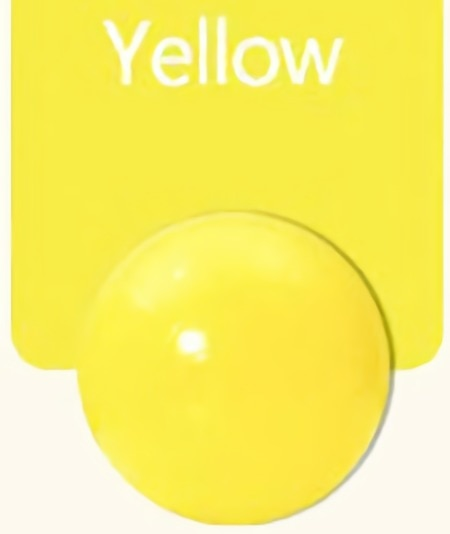 Large (7cm) Yellow Ball Pit Ball - Bag of 50