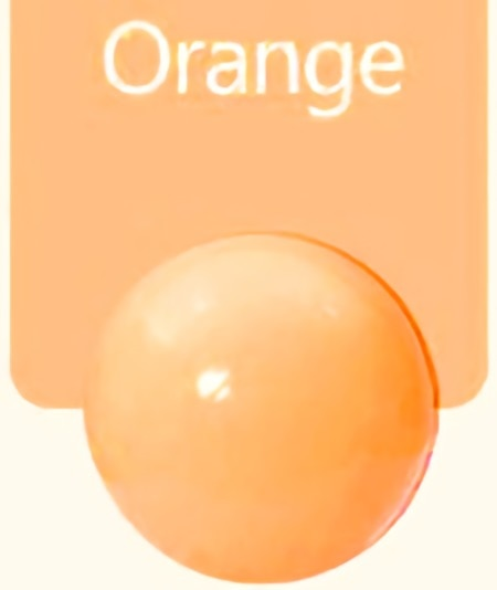 Large (7cm) Orange Ball Pit Ball - Bag of 50