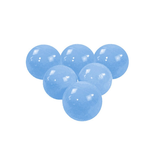 Pastel Blue Pit Ball - Bag of 50 Large (7cm) Balls