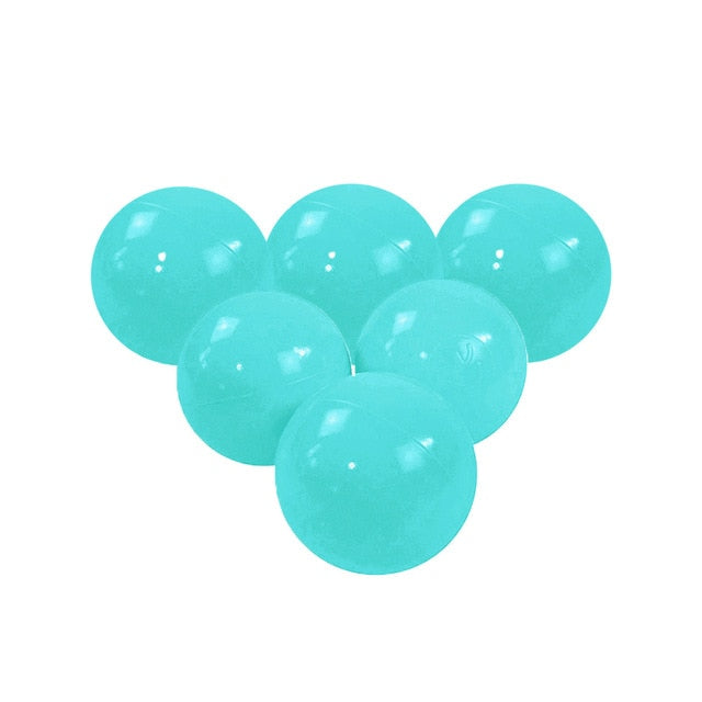 Pastel Green Pit Ball - Bag of 50 Large (7cm) Balls
