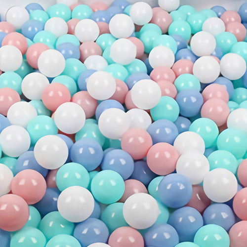 Pastel Ball Pit Ball Mix - Bag of 50 Large (7cm) Balls - Beary Kids