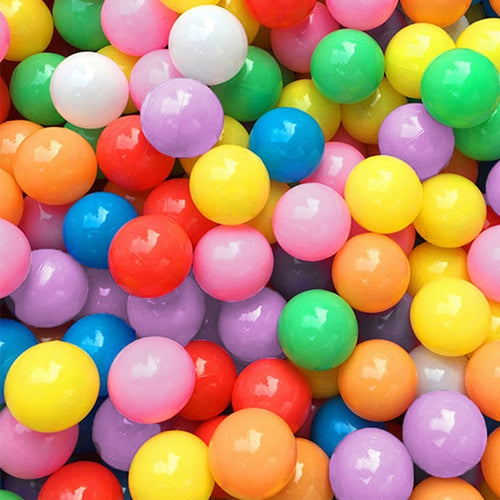 Rainbow Ball Pit Ball Mix - Bag of 50 Large (7cm) Balls