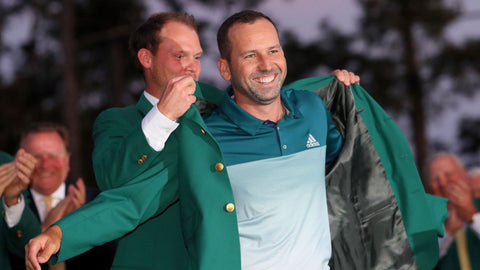 Sergio Garcia wins first major at the Masters