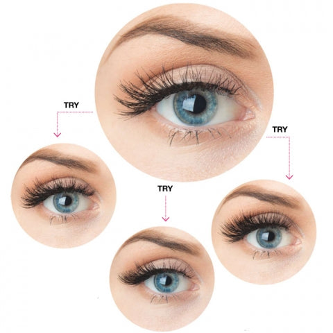 How to Layer Strip Lashes
