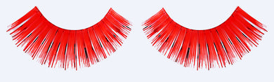 CL-C205 Red Color Tinsel Eyelashes (3 pack) ($3.32 per pair)