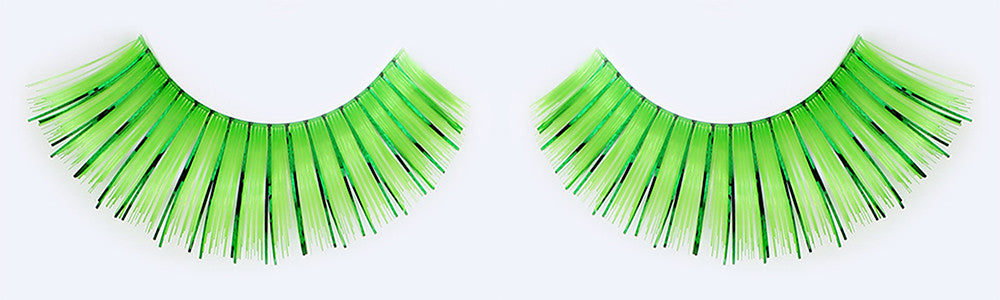 CL-C207 Green Color Tinsel Eyelashes
