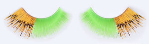 CL-C401 Feathered Light Green with Gold Tinsel