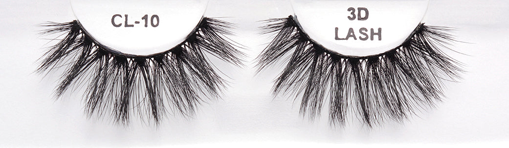 CL 3D Faux Mink Lashes #10 (4 Pack)