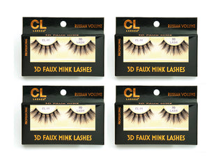 CL 3D Faux Mink Lashes #11 (4 Pack)
