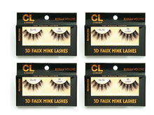 Load image into Gallery viewer, CL 3D Faux Mink Lashes #12 (4 Pack)