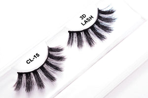 CL 3D Faux Mink Lashes #15 (4 Pack)