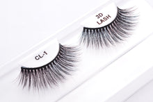 Load image into Gallery viewer, CL 3D Faux Mink Lashes #1 (4 Pack)