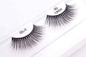 CL 3D Faux Mink Lashes #1 (4 Pack)