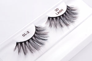 CL 3D Faux Mink Lashes #2 (4 Pack)