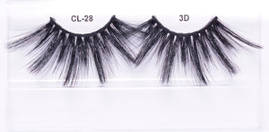 CL 3D Max Faux Mink Lashes #28 (4 Pack)