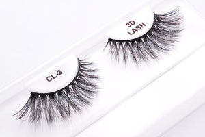 CL 3D Faux Mink Lashes #3 (4 Pack)