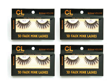 Load image into Gallery viewer, CL 3D Faux Mink Lashes #3 (4 Pack)