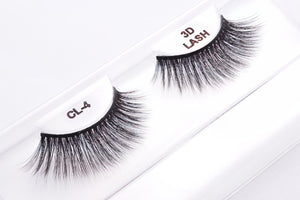 CL 3D Faux Mink Lashes #4 (4 Pack)