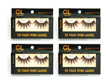 Load image into Gallery viewer, CL 3D Faux Mink Lashes #5 (4 Pack)
