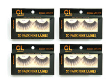 Load image into Gallery viewer, CL 3D Faux Mink Lashes #6 (4 Pack)