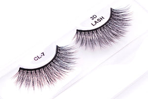 CL 3D Faux Mink Lashes #7 (4 Pack)