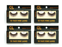 Load image into Gallery viewer, CL 3D Faux Mink Lashes #8 (4 Pack)