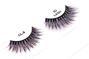 CL 3D Faux Mink Lashes #8 (4 Pack)