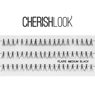 Cherishlook Eyelash #Flare Medium (100 Pack) ($1.10 per pack)