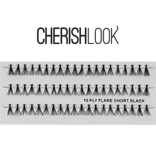 Load image into Gallery viewer, Cherishlook Eyelash #(10ply) Flare Short (10 Pack) ($1.69 per pack)