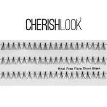 Load image into Gallery viewer, Cherishlook Eyelash #(Knot Free) Flare Short (10 Pack) ($1.59 per pack)