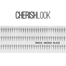 Load image into Gallery viewer, Cherishlook Eyelash #Single Medium (10 Pack) ($1.59 per pack)