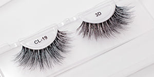CL 3D Human Hair Lashes #19 (4 Pack)