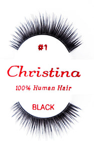 Christina Eyelash #1 (12 pack)